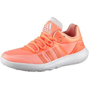 adidas Adan Trainer Fitnessschuhe Damen neonorange/weiß