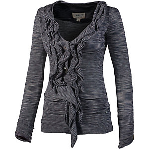 Khujo Hollyhook Strickjacke Damen anthrazit/grau