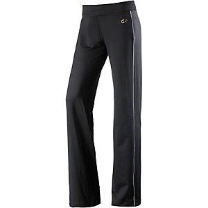 unifit Jazzpants Damen schwarz/weiß
