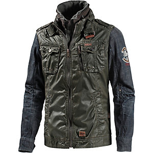 Khujo Uniform Outdoorjacke Herren oliv/denim