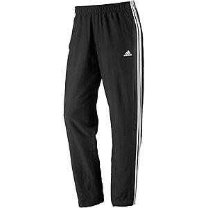 adidas Essential 3S woven Trainingshose Herren schwarz