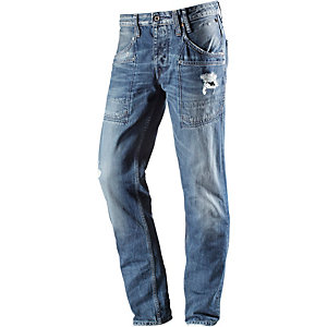 Pepe Jeans Zane Straight Fit Jeans Herren destroyed denim