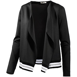 Rich & Royal Sweatjacke Damen schwarz