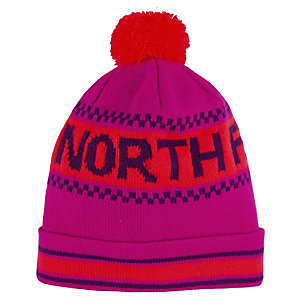 The North Face Ski Tuke IV Bommelmütze pink