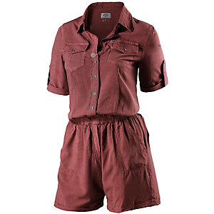 Khujo Jumpsuit Damen bordeaux