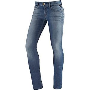 REPLAY Luz Skinny Fit Jeans Damen blue denim