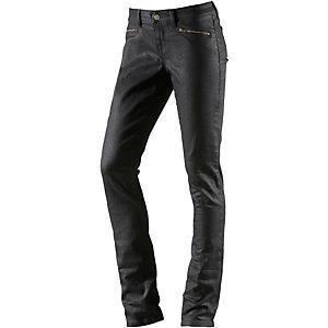 Campus Skinny Fit Jeans Damen schwarz