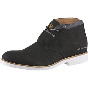 G-Star Eton Chukka Denim Halbschuhe Herren black denim