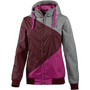 WLD Japs III Windbreaker Damen grau/burgundy/pink