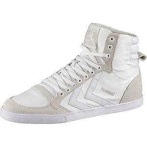 hummel Slimmer Stadil Tonal Hi Sneaker Damen weiß