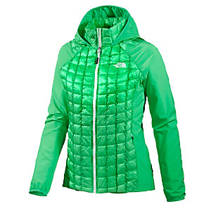 The North Face Thermoball Micro Hybrid Hoody Kunstfaserjacke Damen grün