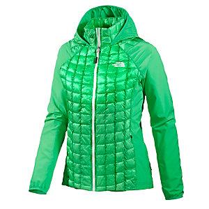 The North Face Thermoball Micro Hybrid Hoody Kunstfaserjacke Damen grün