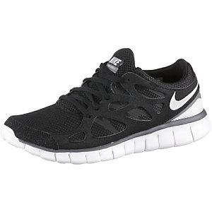 Nike Free Run 2.0 Schwarz Damen
