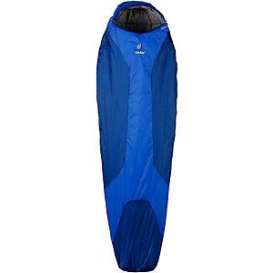 Deuter Orbit +5° Kunstfaserschlafsack blau