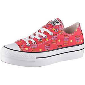CONVERSE Warhol Sneaker Damen pink/weiß