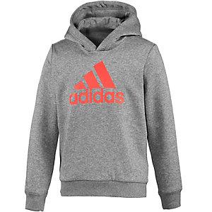 adidas Sweatshirt Jungen grau/neonrot