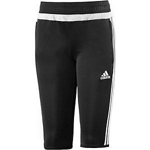 adidas Tiro 15 Fußballshorts Kinder schwarz/weiß