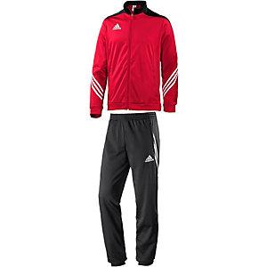 adidas Trainingsanzug Herren rot/schwarz