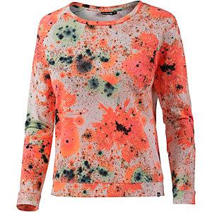 Hurley Cosmic Sweatshirt Damen weiß/koralle