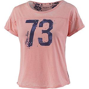Pepe Jeans T-Shirt Damen koralle