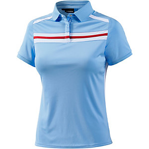 J.Lindeberg W Juliette Regular TX Jersey Poloshirt Damen blau