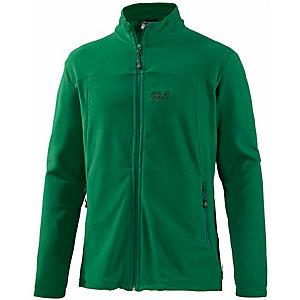 WeicheFleecejacke aushochwertigem Nanuk Fleece in grün, Größe XL Jack Wolfskin