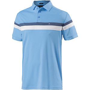 J.Lindeberg M Joakim Reg TX Jersey Poloshirt Herren blau