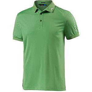 J.Lindeberg M Tour Tech Slim TX Jersey Poloshirt Herren grün