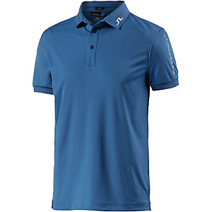 J.Lindeberg M Tour Tech Slim TX Jersey Poloshirt Herren blau