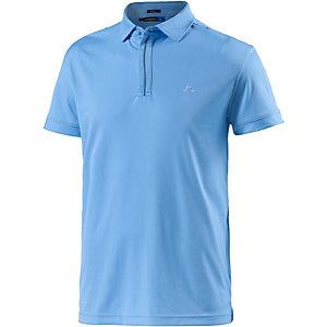 J.Lindeberg M Kayden Slim TX Jersey Poloshirt Herren blau