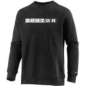 Burton Vault Sweatshirt Herren schwarz