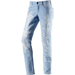 Maison Scotch Skinny Fit Jeans Damen hellblau