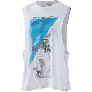 REPLAY Printshirt Damen weiß