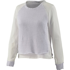 REPLAY Strickpullover Damen weiß