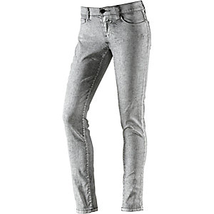 Rich & Royal Skinny Fit Jeans Damen silberfarben