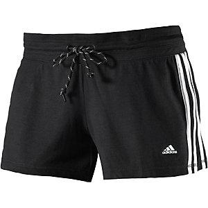 adidas Essential Shorts Damen schwarz/weiß