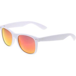 MasterDis Sunglasses Likoma Mirror Sonnenbrille weiß/rot