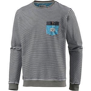 Billabong Salsi Sweatshirt Herren grau/weiß