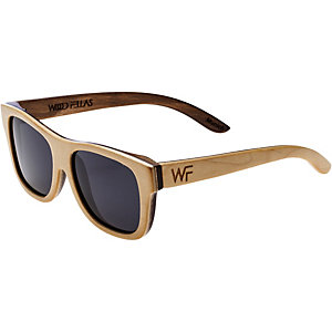 WOOD Fellas Sunglasses Tanjung Sonnenbrille natur/braun/grau