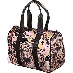 Codello Handtasche Damen schwarz/leopard