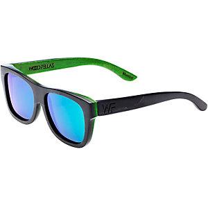 WOOD Fellas Sunglasses Tanjung Sonnenbrille schwarz/grün