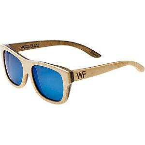 WOOD Fellas Sunglasses Tanjung Sonnenbrille natur/braun/blau