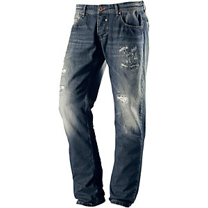 VSCT Anthony Straight Fit Jeans Herren destroyed denim