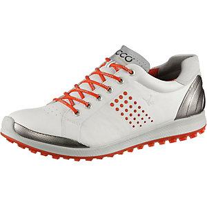 ECCO Biom Hybrid 2 Golfschuhe Herren weiß/rot