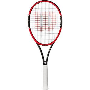 Wilson Pro Staff 97 LS Tennisschläger rot/grau