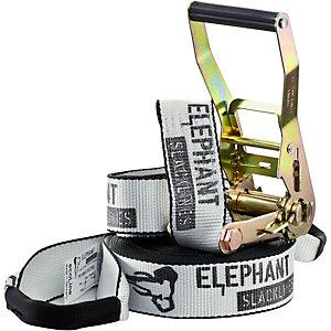 Elephant Slacklines ecoLine Slackline weiß