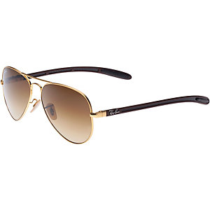 RAY-BAN 0RB8307 112/85 58 Sonnenbrille braun