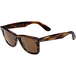 RAY-BAN Wayfarer ORB2140 954 50 Sonnenbrille hellbraun