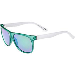 Maui Wowie Sonnenbrille weiß/grün