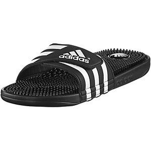 adidas Adissage Pantoletten Herren schwarz